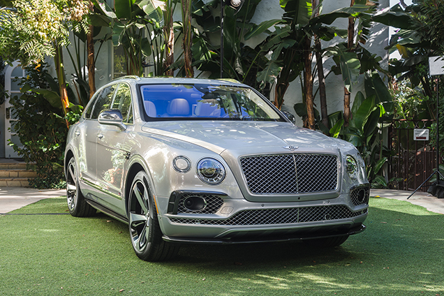 Bentley toont Bentayga First Edition in Los Angeles