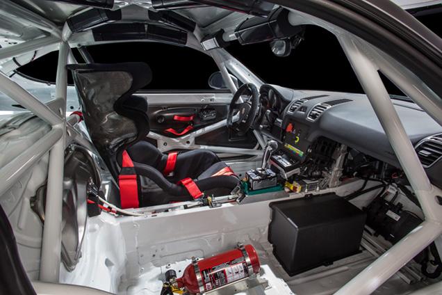 Speelgoed voor het circuit: Porsche Cayman GT Clubsport