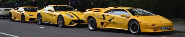 Yellow combo perks up London