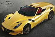 Rendering: Ferrari  F12tdf Aperta Milano
