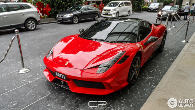 Spotted: Ferrari 458 Italia wants to be a 458 Speciale
