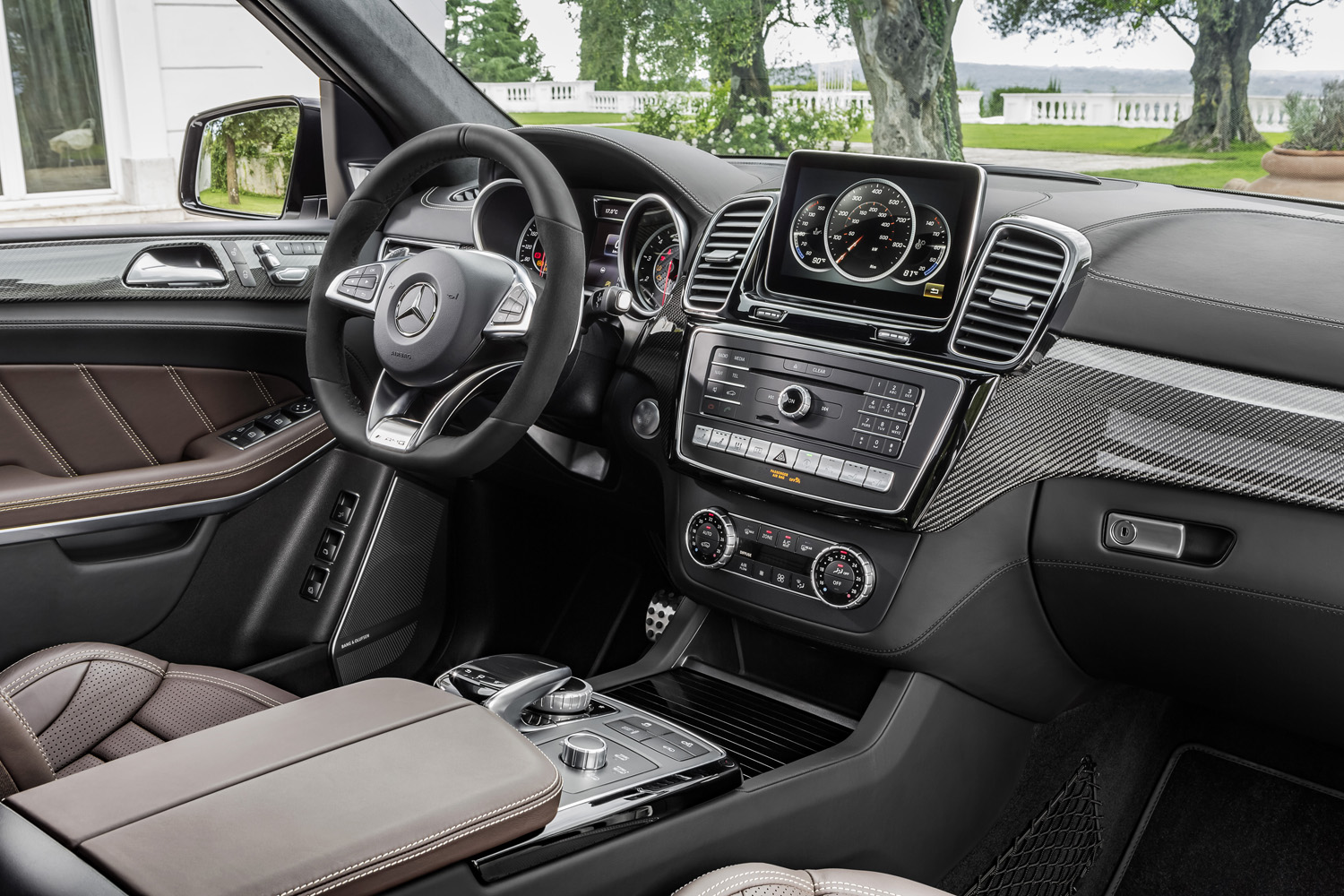 mercedes amg gls 63 gl verschmilzt mit dere s klasse. Black Bedroom Furniture Sets. Home Design Ideas