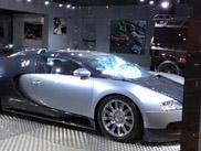 Bugatti Veyron in Leeds gewaltsam beschädigt