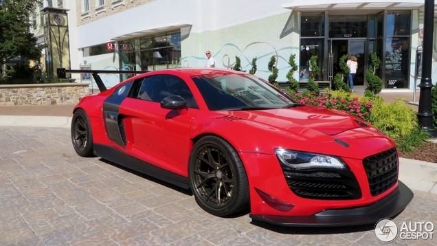 Retedikke Audi R8 is wellicht een beetje too much