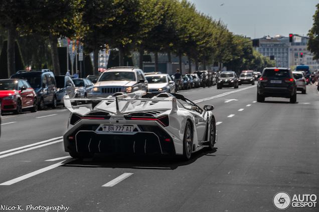 Veneno, One:1 en Bugatti Veyron van dictatorszoon in beslag genomen