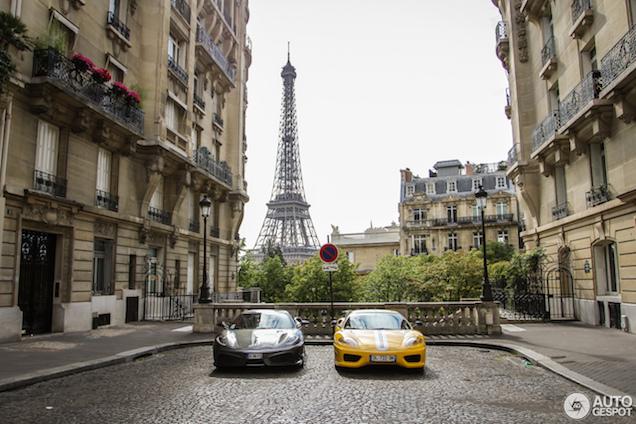Dit is Parijs! Smaakmakers van Ferrari heerlijke vastgelegd