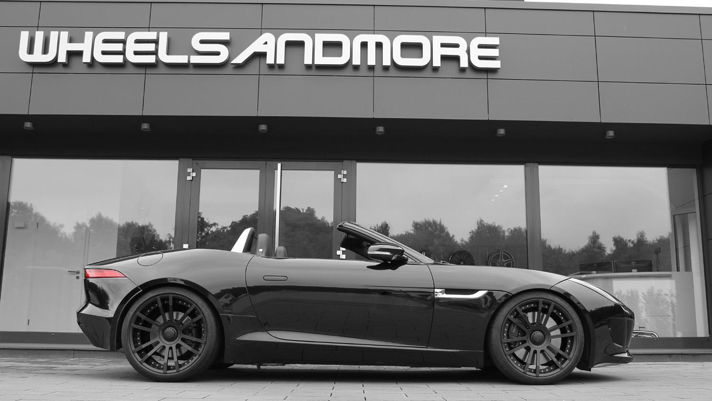 Jaguar F Type S Gets A Wheelsandmore Treatment