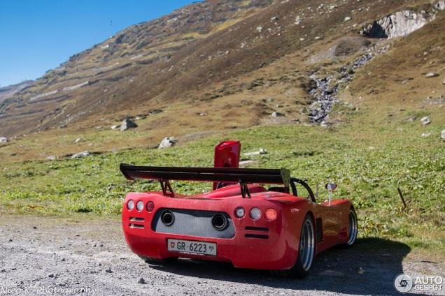 Ultima Can-Am is misschien wel de ultieme auto voor dit soort wegen