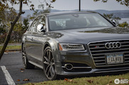 Anonymous, yet powerful, Audi S8