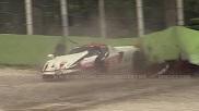 Pijnlijk: Ferrari FXX Evoluzione gaat de bandenmuur in op Monza