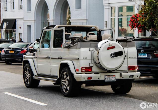 Een wonderlijke creatie: Mercedes-Benz G 55 AMG Cabriolet