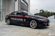 Spotted: Alfa Romeo Giulia Quadrifoglio of the Carabinieri