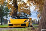 Spot van de dag: de herfst in met deze Lamborghini Gallardo