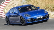 Movie: Hot lap with the Porsche Panamera Turbo S E-Hybrid