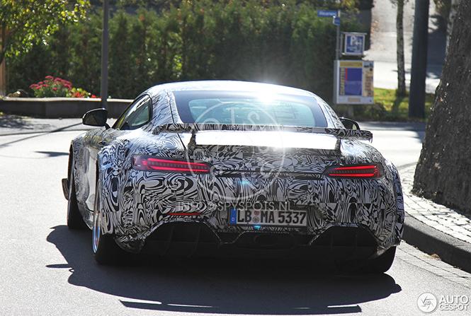 Nog breder: Mercedes-AMG GT R Black Series