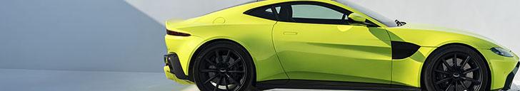 This is the new Aston Martin Vantage!