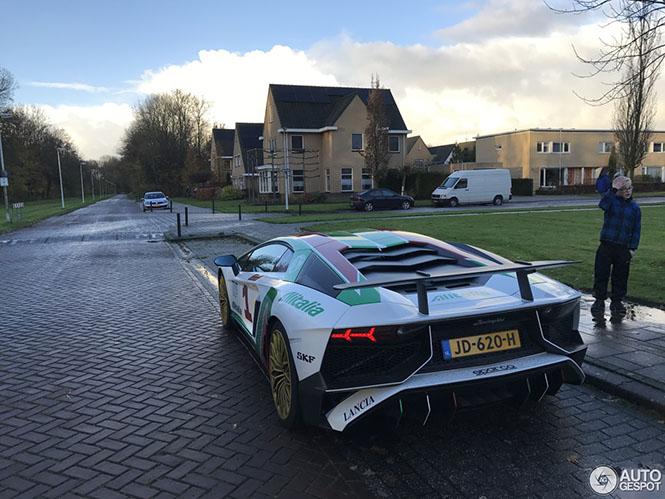 Spot van de dag: Lamborghini Aventador LP750-4 SV