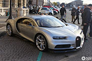 Even in Paris people pay special attention to the Bugatti Chiron
