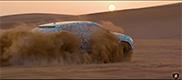 Lamborghini Urus off-road action