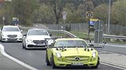 Wat voert Mercedes-Benz nog in zijn schild?