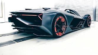 Unieke kijk op de toekomst met Lamborghini Terzo Millennio