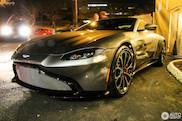 Already spotted: Aston Martin V8 Vantage 2018!