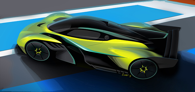 Aston Martin Valkyrie AMR Pro wordt een circuitbeul
