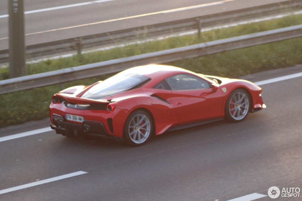 Eerste Ferrari 488 Pista in België gesignaleerd