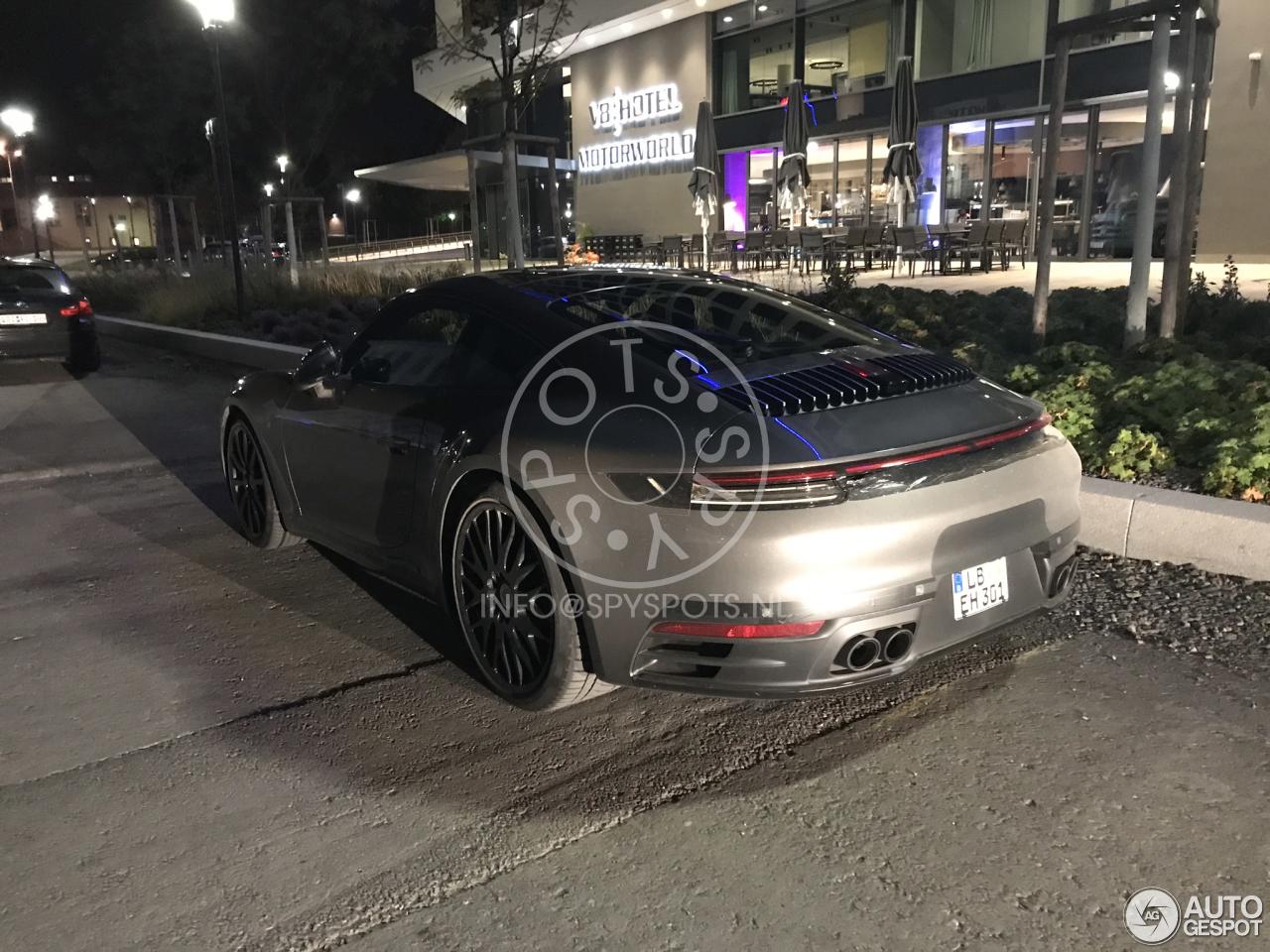 Porsche 992 Carrera ondergaat laatste tests