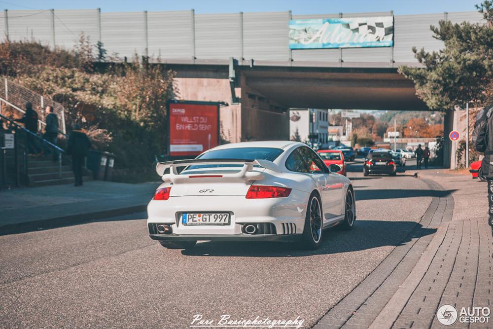Porsche 997 GT2 wordt een zeldzaamheid op straat