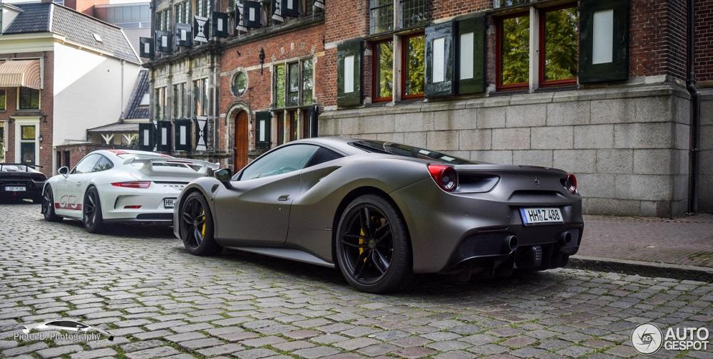 Spot van de dag: Ferrari 488 GTB