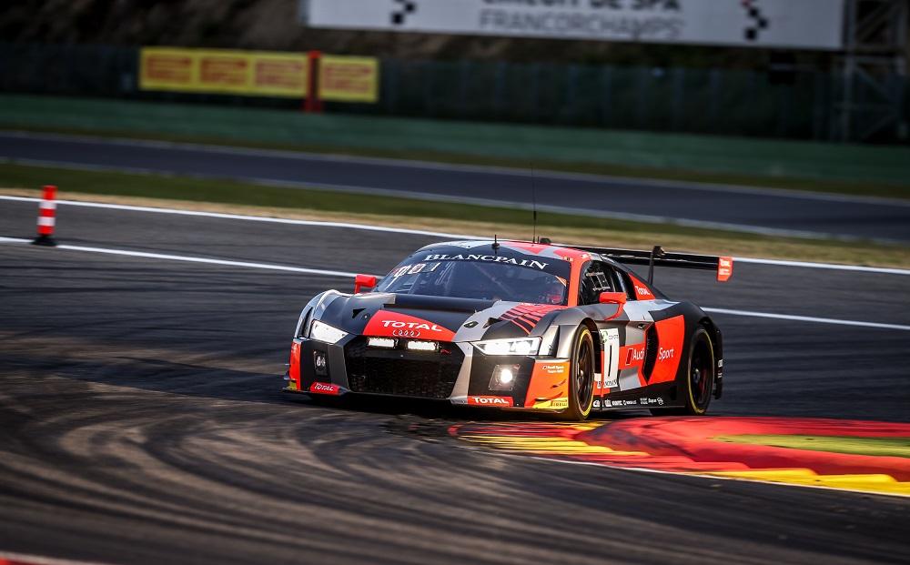 Filmpje: de 24 uren van Spa door de ogen van Audi