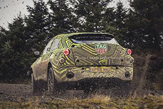 Aston Martin DBS begint aan intensief testprogramma