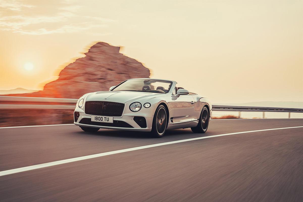 Klaar voor de zomer van 2019: Bentley Continental GT Convertible