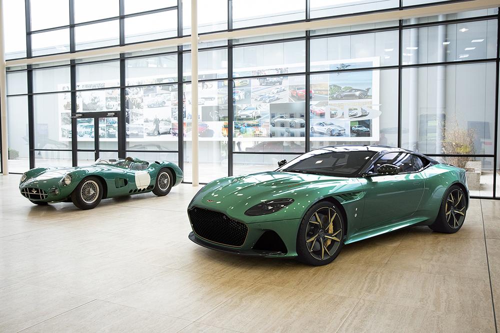 Aston Martin 'DBS 59' marks legendary 1959 Le Mans win