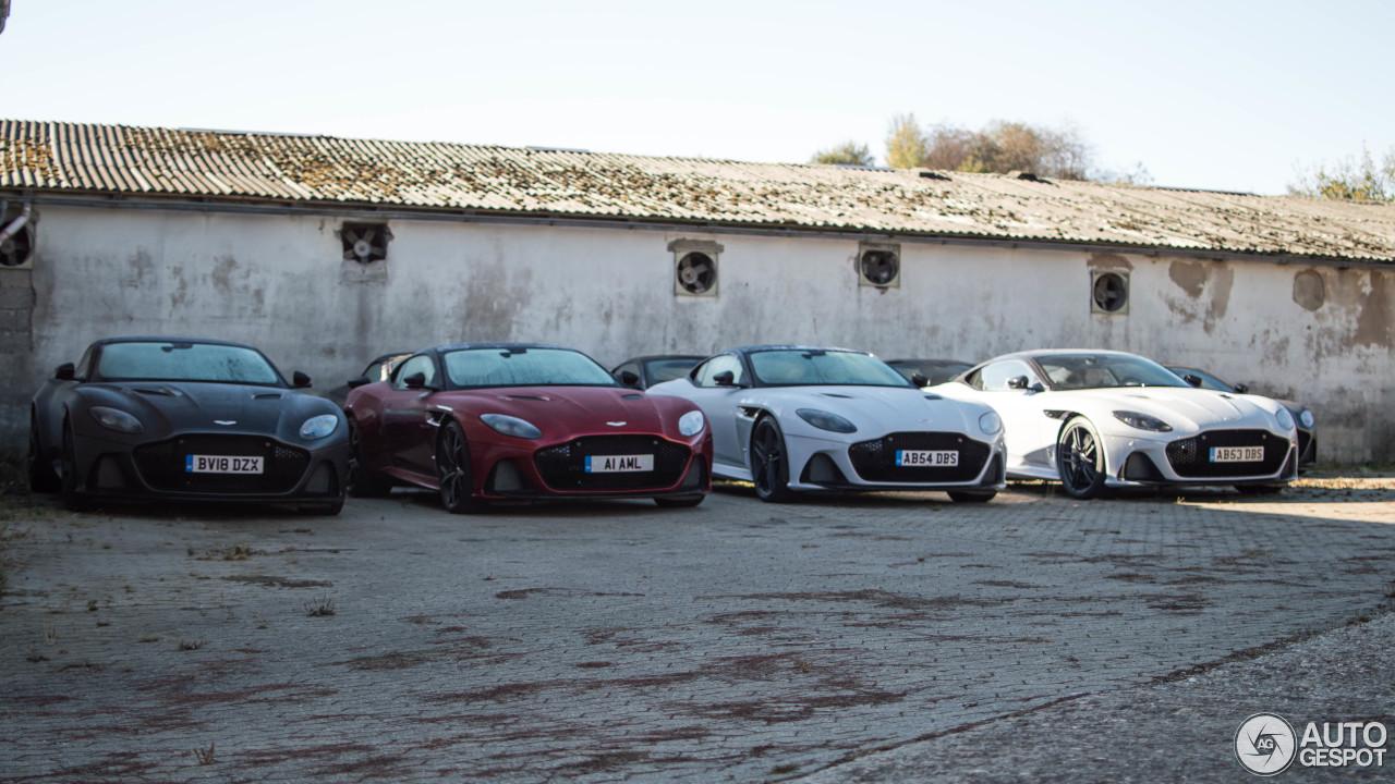 Welke tint kies jij je Aston Martin DBS Superleggera
