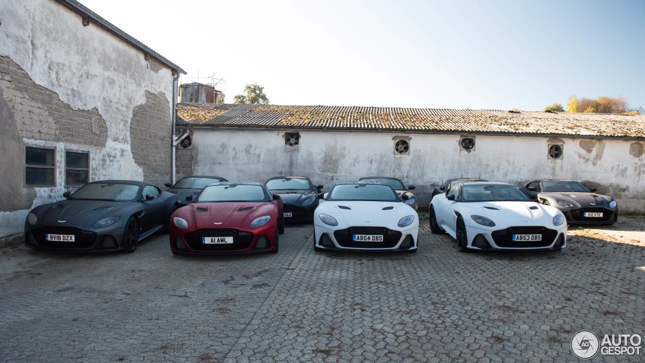 Welke tint kies jij voor de Aston Martin DBS Superleggera?