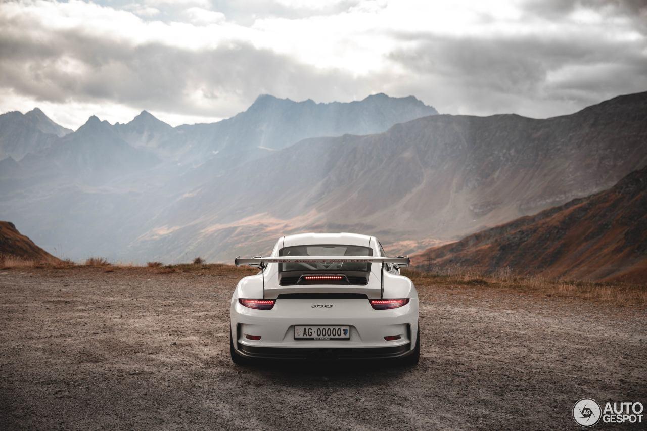Kom even tot rust met deze tien heerlijke plaatjes van de GT3 RS