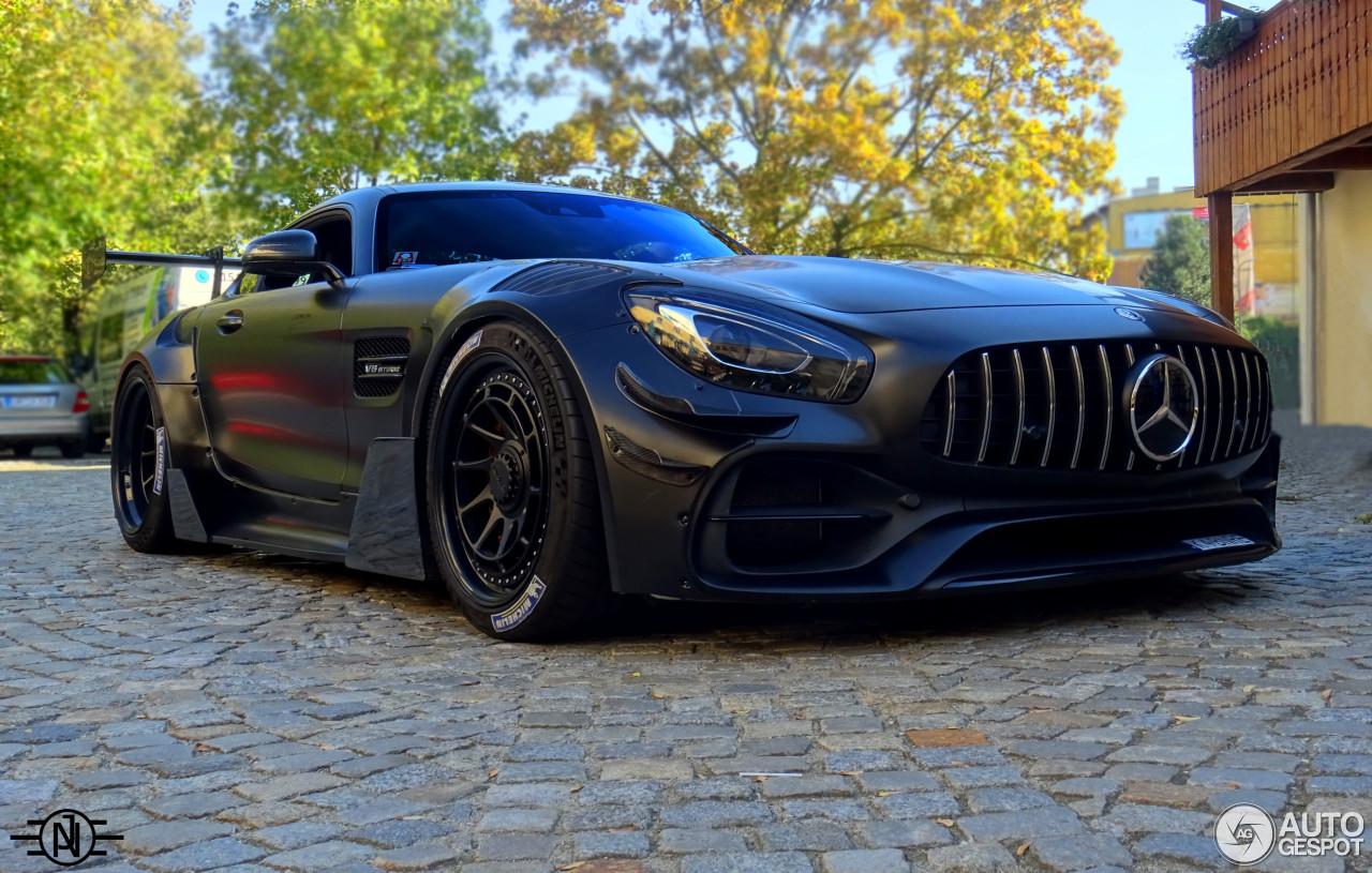Maxton maakt iets bruuts van de Mercedes-AMG GT S