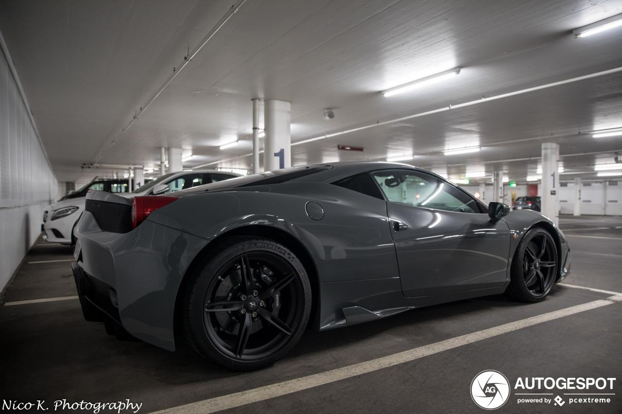 Lekker normaal: Ferrari 458 Speciale