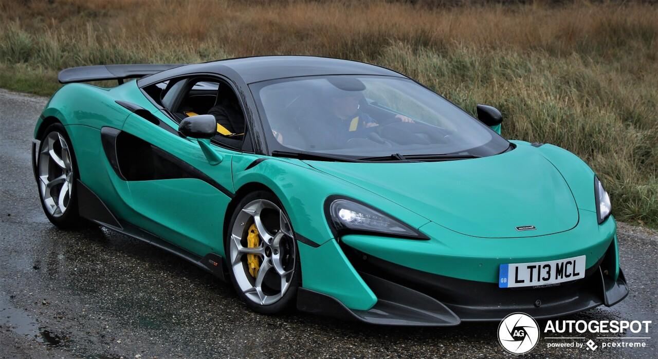 McLaren 600LT wordt deze weken flink uitgelaten