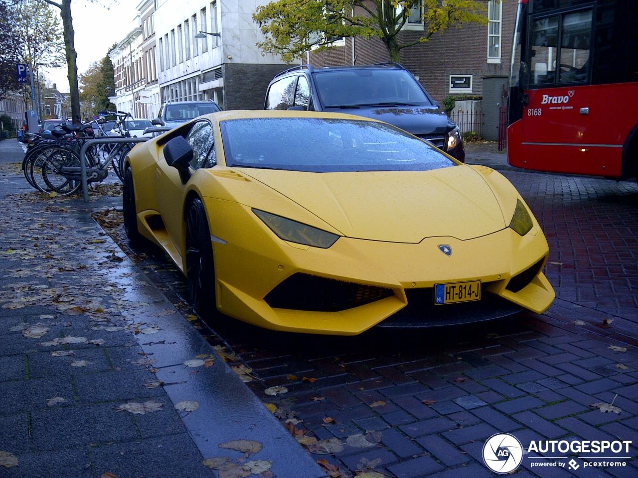 Spot van de dag: Lamborghini Huracán LP610-4 Novitec Torado N-Largo