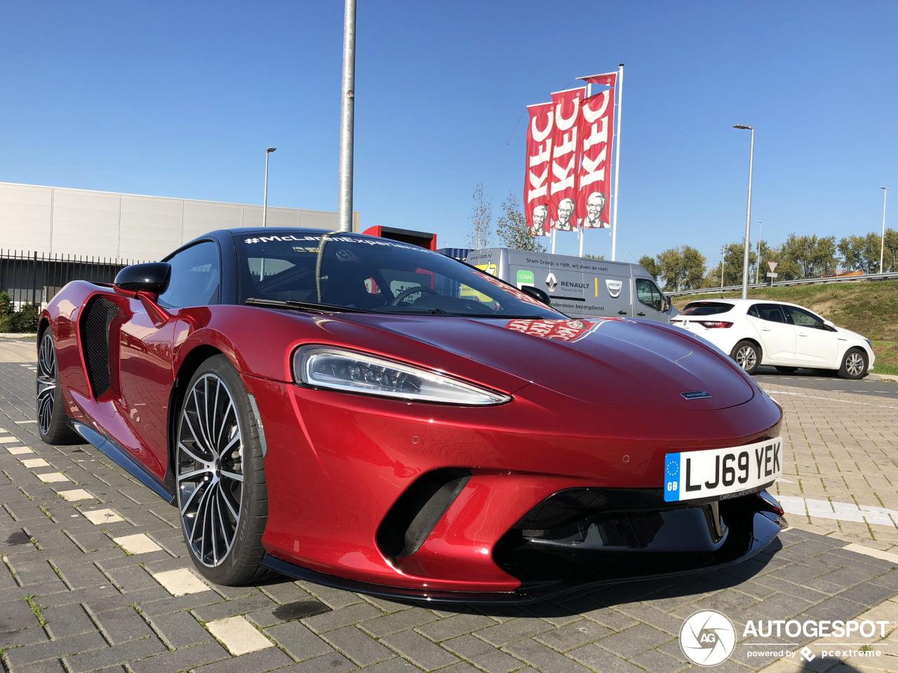 Spot van de dag: McLaren GT