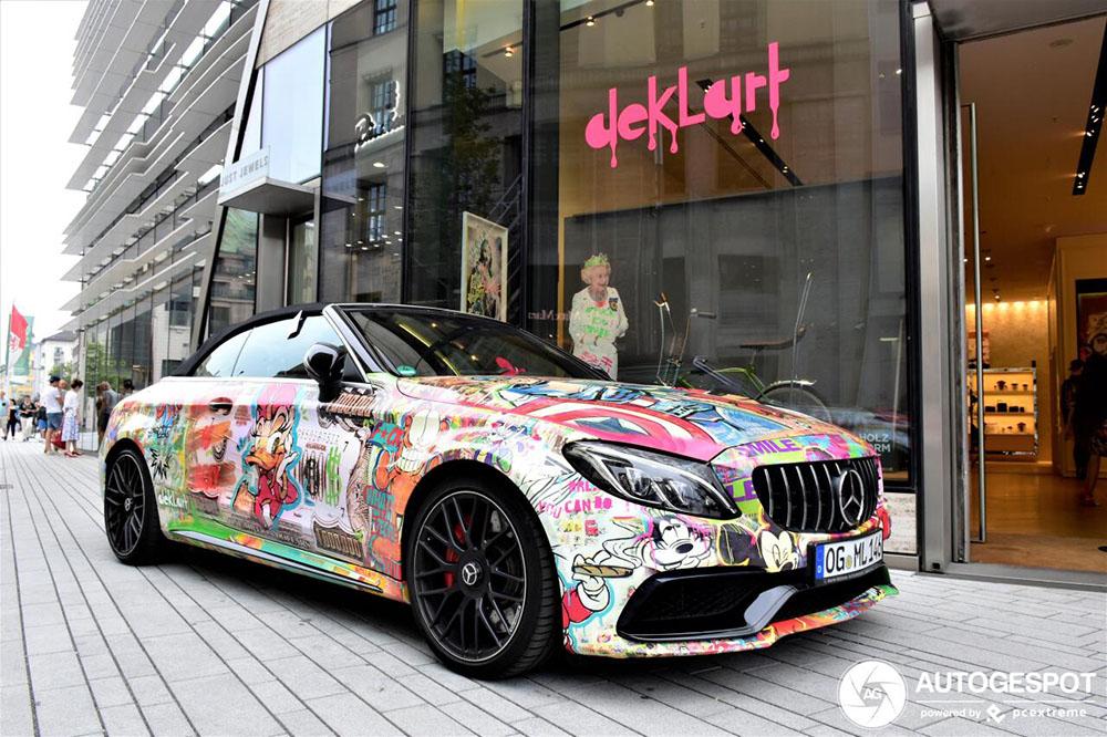 Mercedes-AMG doet dienst als kunst