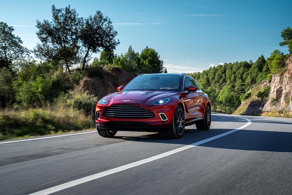 Aston Martin lanceert de langverwachte DBX