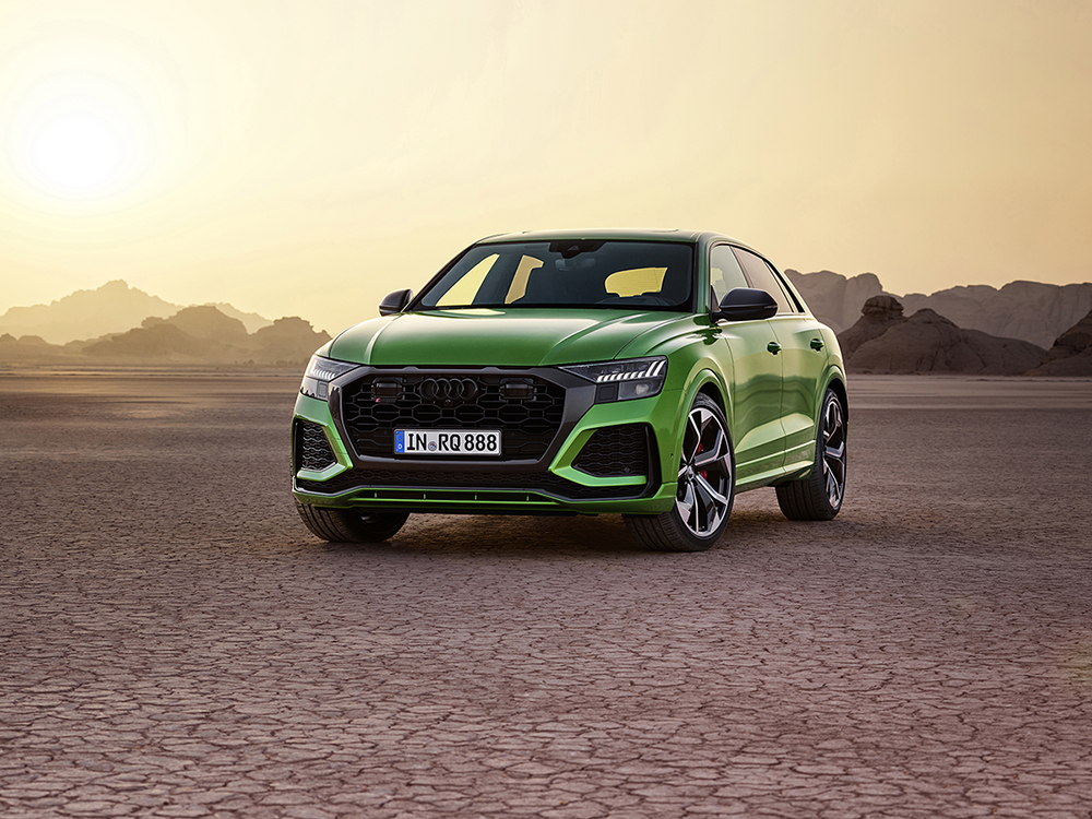 You will soon know the Audi RS Q8 as the tank