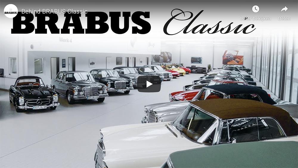 Filmpje: Brabus Classic afdeling zijn kunstenaars voor auto's