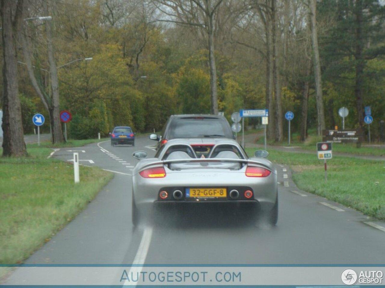 Vandaag tien jaar geleden: Porsche Carrera GT in Overveen