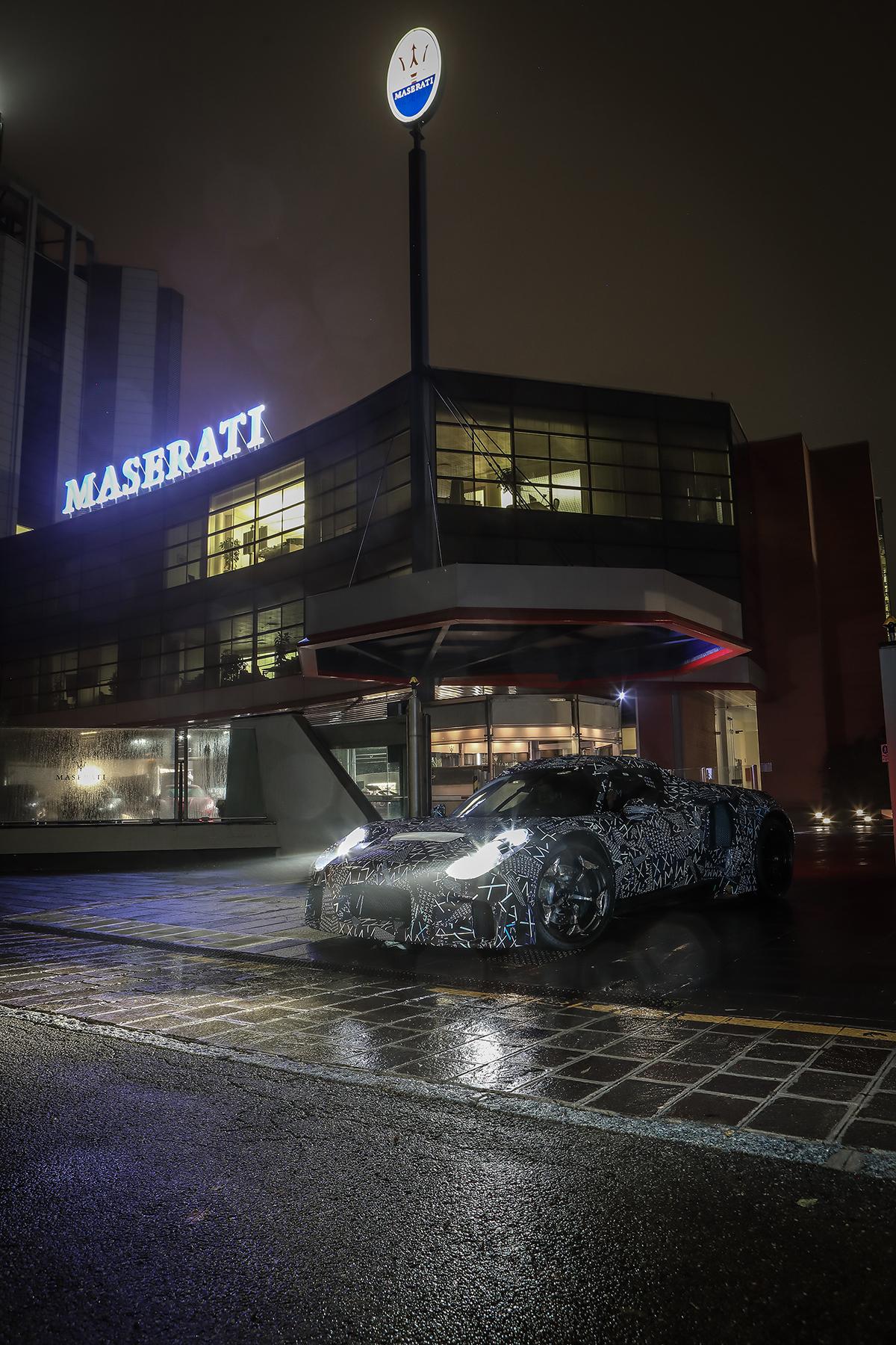 Maserati begint met testen van nieuwe motor