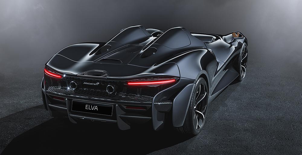 Gorgeous: McLaren Elva revealed